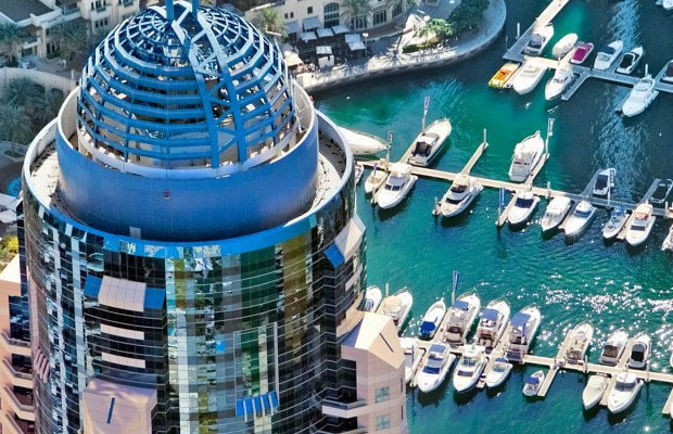 hotels in marina dubai