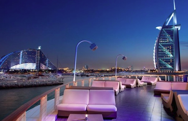 nightlife in dubai armani 360 degrees bar