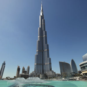Prices in Dubai Stock Market have fallen with Arabtec, owner of the Burj Khalifa suffering losses